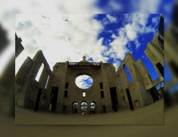 Saint Boniface Cathedral Super Wide Angle by Joe-Lynn-Design