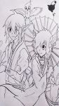 Under the sakuratree (lineart) by Yuma76