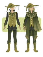 Green Menswear Design Contest 2 by ToJee-Adopts