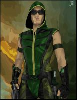 Green Arrow #2 by SpideyVille
