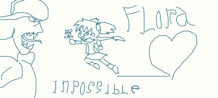 Flora is a Impossible  Girl by florapolitis
