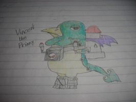 Disgaea - Vincent the Prinny by Waddle-Dance