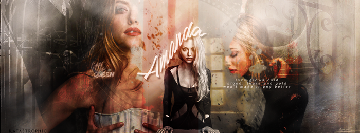 Cover - Amanda Seyfried by katastrophyc-s