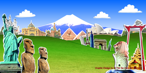 backdrops for party at noon Version 2 by sw-eden