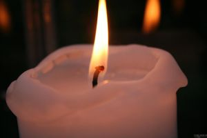 Best of Oslo series: candle by szerencsefia
