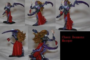 Chaos Deamons Masque by Czethros