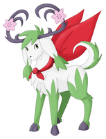 Evolution of Shaymin Sky Forme by Twime777