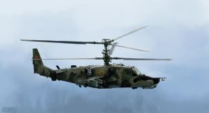 kamov ka-50 by youngblood88