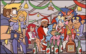 MERRY CHRISTMAS from DOUBLE K by captainosaka