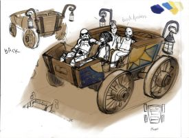 cart concept with passengers by azimuth-oakes