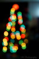 Christmas Tree Bokeh by lennerose