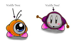 Waddle Deed and Waddle Doos by ShadowBonadow