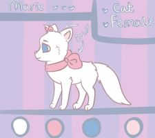 Marie ref - Commission (1/2) by lunumi