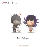 Love is... Petrifying by hjstory