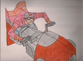 Generator Rex-The Rex Ride by DRAGONLOVER101040