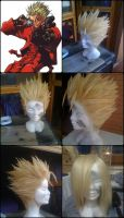 Vash The Stampede Wig by Zell-Ecstasy