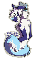 Staccato Badge by SLlTHER