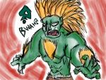 Drawing a Blanka by Meta-josh