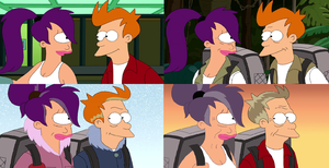 Fry and Leela Together Forever (Futurama) by dlee1293847