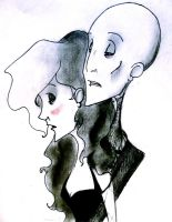 Voldemort and Bellatrix by NeverlandForever