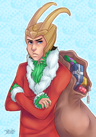 CM: Grinch Loki by Little-Miss-Boxie