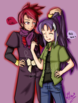 Collab: Aki and Palolo by Gennykins