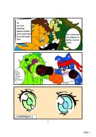 Digimon Revolution fancomic ch.1 pg 1 by Tashiyoukai