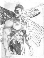 Mr Freedom Pencils by tonytorrid