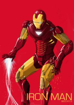 Iron Man by szeloong