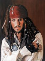 Captain Jack Sparrow by PortraitsbyCaroline