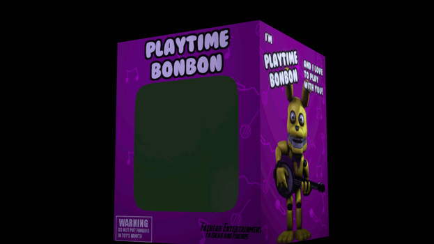 Playtime BonBon Box by TheImperfectAnimator