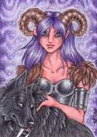 ACEO Trade: Silvien by Agaave