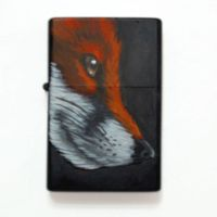 zippo red fox by The-einziger-R