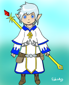 Lalafell Mage by Yukireon