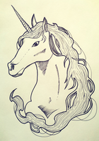 Unicorn by EddieEA