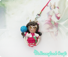 Dynasty Ahri Keychain by BunnyLandCraft