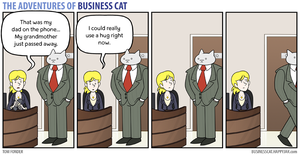 The Adventures of Business Cat - Comfort by tomfonder