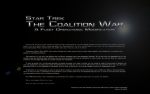 The Coalition War Outreak by Majestic-MSFC