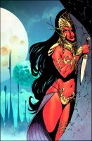 John Carter : Warlord Of Mars # 3 Variant cover by panelgutter