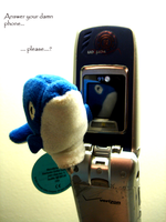 Answer your phone by UkuleleOVERSOUL