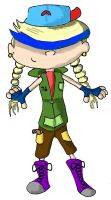 Jacklyn numbuh 76: KND OC by mustache-monster