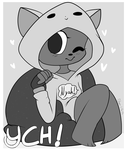 Kittie Hoodie YCH Auction (CLOSED) by Glamorsaurus