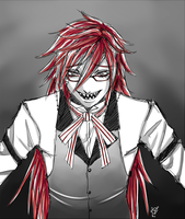 Grell Sketch by GoldieAuvs