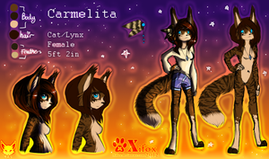 .:Carmelita ref - 20!2:. by chillis-art