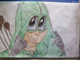 Hoodie archer (Oliver Queen) by MrsCromwell