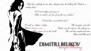 Dimitri Belikov by Hardest-of-Heart9
