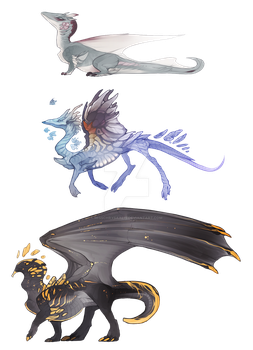 Smol Dragon Adopts by MissChrysaalis