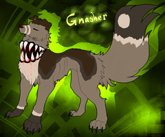 Gnasher by Drawotion