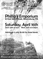 FTF Event Poster -- April '05 by rephaim