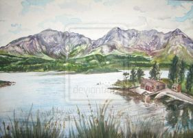 Lough Inagh, Connemara Ireland by SuzanneHole